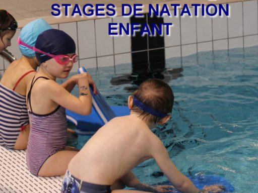 photo affiche stages de natation fevrier 2018