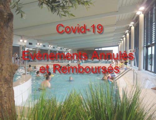 CORONAVIRUS : Mesures de remboursement