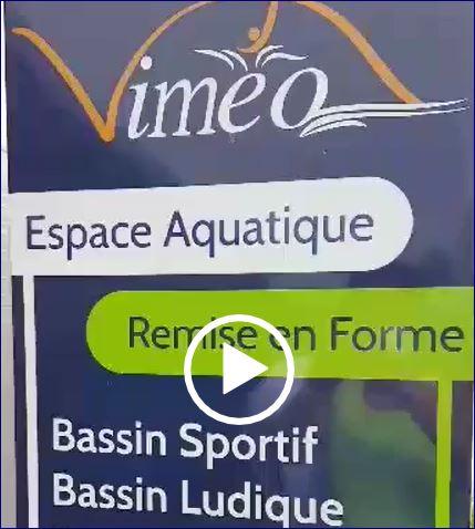 L'espace aquatique vous accueille, <br /> découvrez-le en vidéo ..