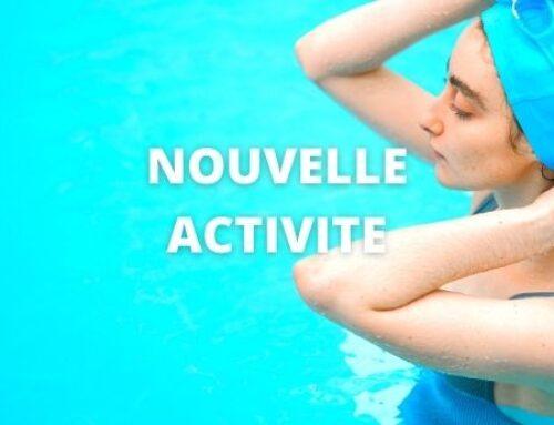 Une nouvelle activité : l'aqua-mobilité